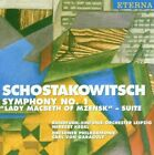 SHOSTAKOVICH D - Symphony 1/lady Macbeth - CD - Import - **Excellent Condition**