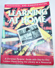 Learning at Home  Preschool and Kindergarten by Ann Ward 1988 Paperback