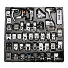 Professional Domestic 42 Pcs Sewing Machine Presser Feet Set For Brother, Elna,