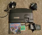 TurboGrafx 16 Console with 2 Games, Controller, & Hookups. Tested!!!