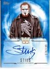 2017 TOPPS WWE UNDISPUTED STING AUTO # 174 199