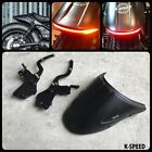 HONDA REBEL CMX 300 500 2017 TAIL TIDY SHORT REAR FENDER LED LIGHT FAIRING CUSTO
