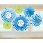 Baby Boy Blue Decorating Kit for Baby Shower 6 Piece Set for Its a Boy