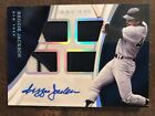 Reggie Jackson 2017 Panini Immaculate quad sick patch 4 color auto 1 1 Yankees
