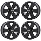 18 CHEVROLET TRAVERSE BLACK WHEELS RIMS FACTORY OEM 2015 2016 2017 SET 4 5572