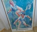 Leroy Neiman Print Tennis Laver and Emerson