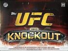 2012 Topps UFC Knockout Factory Sealed Hobby Box 8 Hits AUTO RELIC