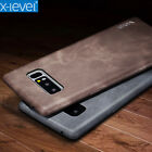 X-Level Luxury Vintage Slim Durable Case Leather Cover Skin For Samsung Galaxy