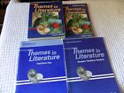 ABEKA Themes in Litereature + Teachers Guide Tests Quizzes + Key No Writing