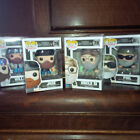 Duck Dynasty funko POP figures willie si jase uncle phil NEW toy set