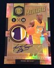 KOBE BRYANT Autograph 10 11 gold standard Gold Mining 3 Color Prime Patch #05 24