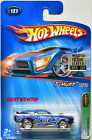 HOT WHEELS 2005 TREASURE HUNT MUSTANG MACH 1 127 FACTORY SEALED W+