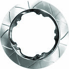 Lyndall Racing Brake Rotors 11.8 in. Chrome Front 737-2215