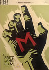 Fritz Lang M 2 DVD Special Edition w 48 page booklet Non US Region 2 PAL