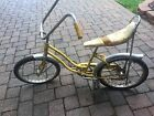 1970s Schwinn Stingray Girls Yellow Bicycle Banana Seat Fair Lady Org Owner