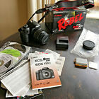 Cannon Rebel XSI  EOS 450D 122MP Digital SLR Camera + Box CDs Charger SD Etc