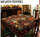 WASATCH MEMORIES Piecing  Applique Quilt Pattern Removed from a Book