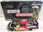 GREG BIFFLE 2003 GRAINGER 1/24 TEAM CALIBER OWNERS SERIES (ROOKIE CAR)