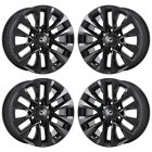 18 LEXUS GX460 BLACK WHEELS RIMS FACTORY OEM 2015 2016 2017 2018 SET 4 74297
