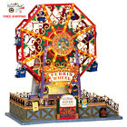Lemax Collection Carnival Village Victorian Flyer Ferris Wheel XMAS Decor Gift