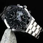 WINNER Men's Automatic Mechanical Analog Stainless Steel Date Band Wrist Watch
