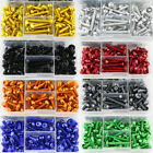CNC Alloy Motorcycle Complete Fairing Bolts Kit Bodywork Screws Nuts For HONDA
