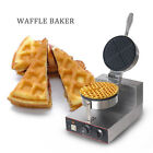 Electric Stainless Steel+Cast Aluminium Waffle Baker Maker 1000W 220V Non-stick