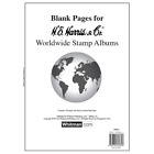 HE HARRIS  CO BLANK PAGES FOR WORLDWIDE STAMP ALBUM WITH FREE SHIPPING