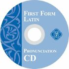 FIRST FORM LATIN PRONUNCIATION CD By Cheryl Lowe BRAND NEW