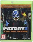 PAYDAY 2 THE BIG SCORE 10 DLC PACKS Xbox 1 One Microsft XBOX1 Video Game Pay Day