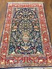 Fine Handmade Persian Rug From Isfahan Tree Of Life 3x5