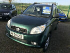 09 DAIHATSU TERIOS 15 KIRI 4X4 84000 MILES VERY CLEAN WELL LOOKED AFTER CAR