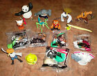 McDonalds KUNG FU PANDA 2 complete sets of 8 both 2008 & 2011 w 5 MINT IN BAG