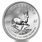 2017 South Africa 1 oz Silver Krugerrand Premium Uncirculated 50th Annv Privy