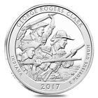 2017 5 oz Silver America the Beautiful ATB Indiana George Rogers Clark National