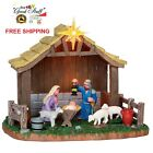 Lemax Village Accessory Christmas Nativity Scene Holy Family XMAS Decor Gift B O