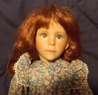15 inch Willow Handcrafted Porcelain Doll by Dianna Effner with COA