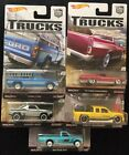 Hot Wheels Trucks Full Set 1-5 Car Culture
