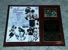 AUTOGRAPH Walter Payton 1995 Chicago Bears 10yr phone card W A LEGEND AMONG US