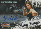 Gina Carano MMA Cards and Autographed Memorabilia Guide 11