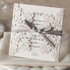 10Pcs Set Personalized Wedding Invitation Card with Envelopes Seal Invite Card