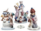 Lladro Lot THE SNOWMAN & TALK TO ME! & MY LITTLE REINDEER  NEW Christmas