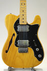 Fender 1973 Telecaster Thinline / Natural Used Electric Guitar FREE Shipping