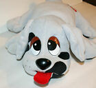 Pound Puppies Licks n Kisses Plush Puppy Squeeze Paw Tongue Moves Gray 1992