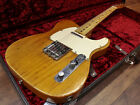 Fender USA Telecaster '72 Natural Used Electric Guitar FREE Shipping