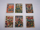 Lot of 6 - X-Men 1994 Mighty Marvel Comics Prepaid Phone Cards - Expired Unused