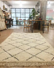 BLACK FRIDAY SALE 50% OFF New Handmade Moroccan Rug Beni Ourain