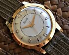 PIAGET Beautiful 18k Gold Plated Men's watch from 1950's