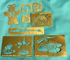 LASTING IMPRESSIONS Embossing Template Brass Stencils Cute