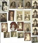 Vintage Photograph Lot of 43 Photo Booth School